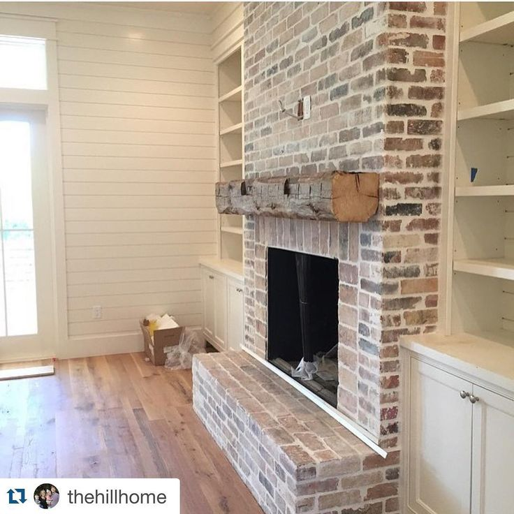 1000 Ideas About Whitewash Brick Fireplaces On Pinterest