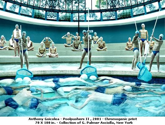 Anthony Goicolea Pool Pushers