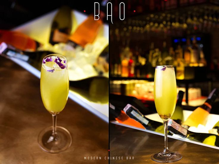 BAO Modern Chinese Bar. Divine pleasure: the Laughing Budda cocktail with a Prosecco base. #interdema #chinesecuisine #chineserestaurant #food #BAO #Kyiv #рестораны
