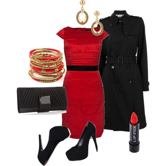 Valentine dinner outfit