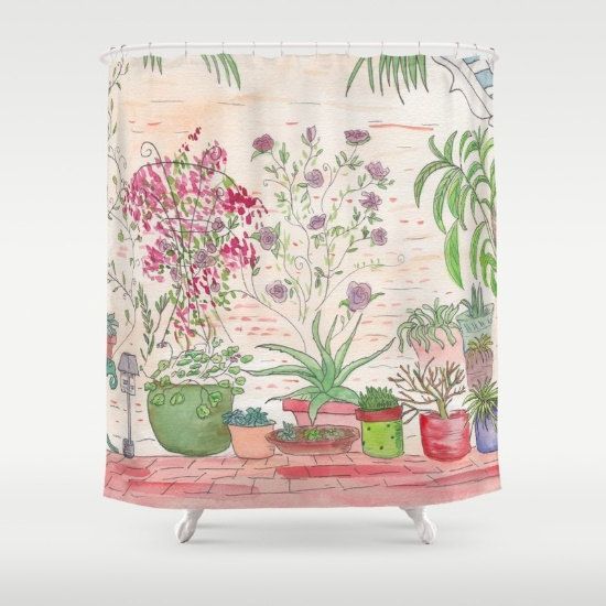 Southwestern Style Shower Curtain The New by ArtfullyFeathered
