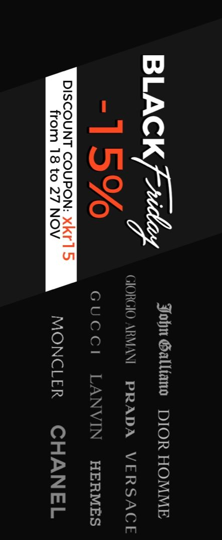 Black Friday at Luxury & Vintage Madrid ,The best online selection of Top Brands, Clothing , Accessories New or Pre-loved with up to 70% discount , Express Shipping Worldwide
