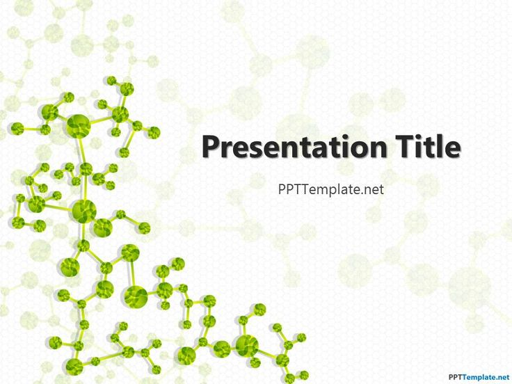 Free Biology PPT Template - PPT Presentation Backgrounds for Power Point - PPT Template