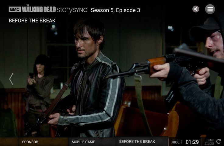 The most intense episode... Just holding my breath. The Walking Dead. Air date: 10-26-2014.