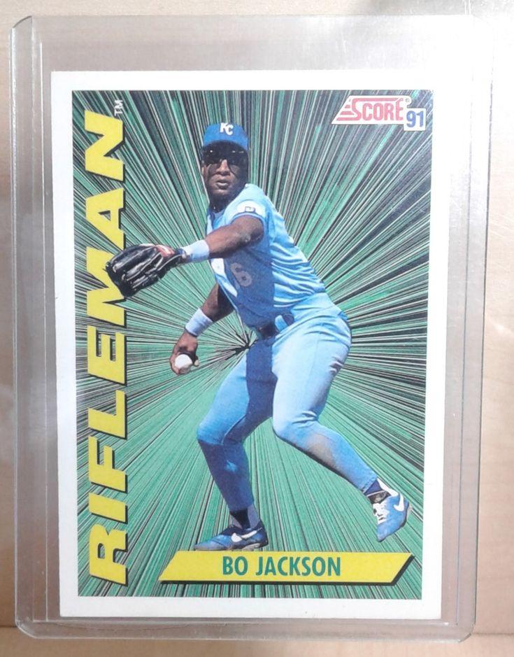 1991 score bo jackson rifleman 412 bo jackson