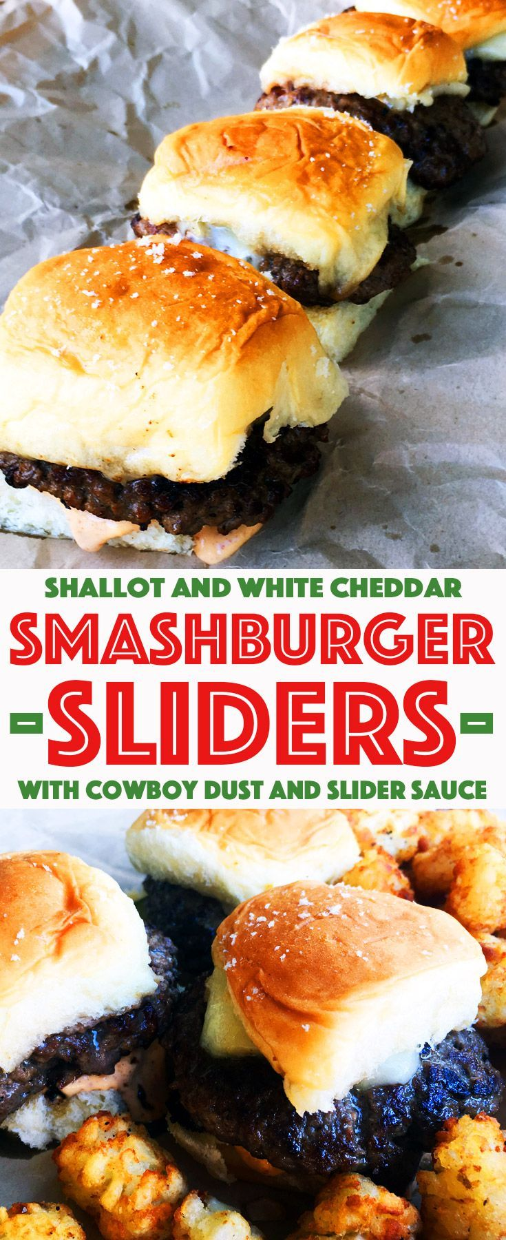 Elevate your burgers with these Shallot and White Cheddar Smashburger Sliders – Cherry and Spice