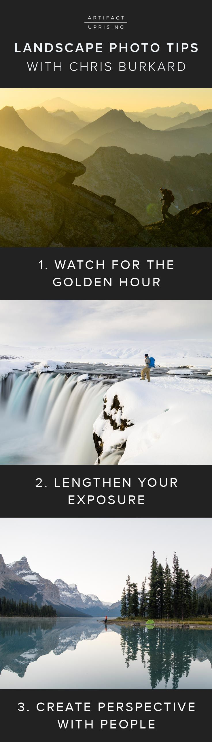 9 Landscape Photograph Tips (to never leave home without) | Chris Burkard X @artifactuprsng