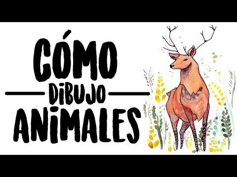 (3) CÓMO DIBUJAR ANIMALES FÁCIL | IvArt - YouTube