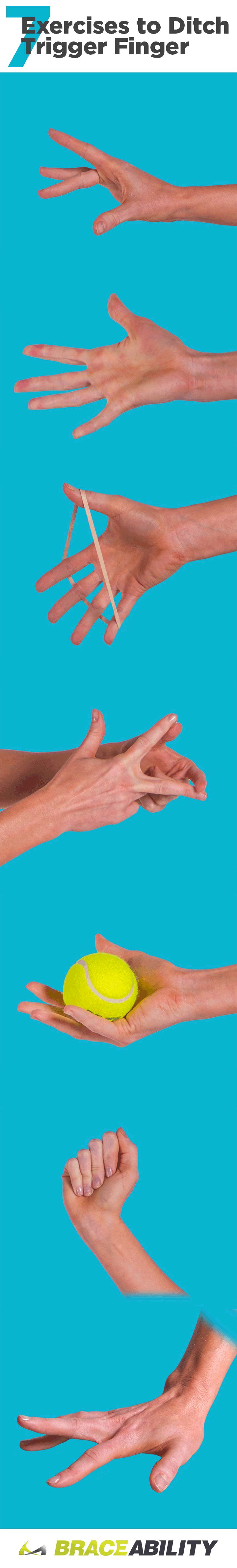 As painful as trigger finger is there is a remedy at home! Stretching will often stop the tendon from locking into the sheath. The exercises shown here should help alleviate the inflammation and pain associated with trigger finger and thumb.