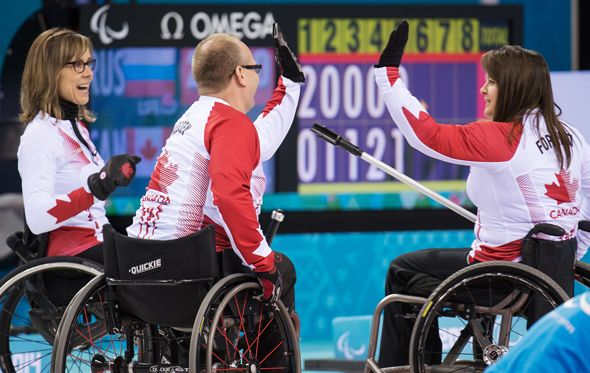 #Sochi - Team Canada, Curling Gold