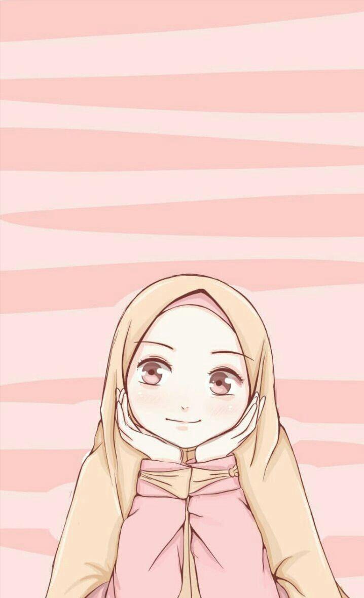 Muslim Wallpaper Muslim Wallpaper Di 2020 Ilustrasi Karakter Seni Islamis Gambar