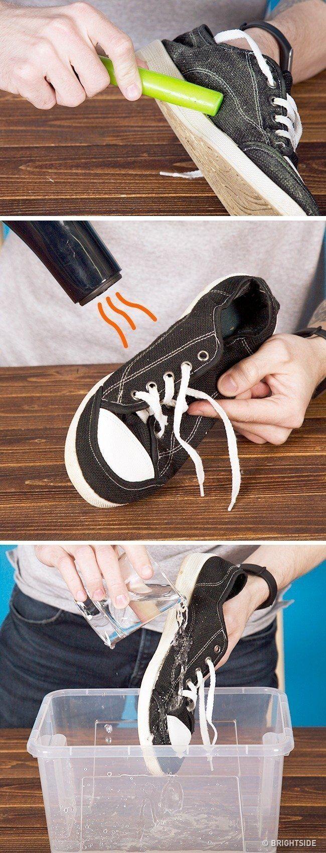 Jak zrobić wodoodporne tenisówki