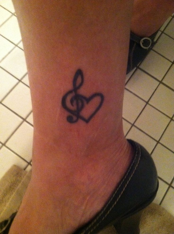 53 best treble clef images on pinterest tattoo ideas treble clef and music notes. Black Bedroom Furniture Sets. Home Design Ideas