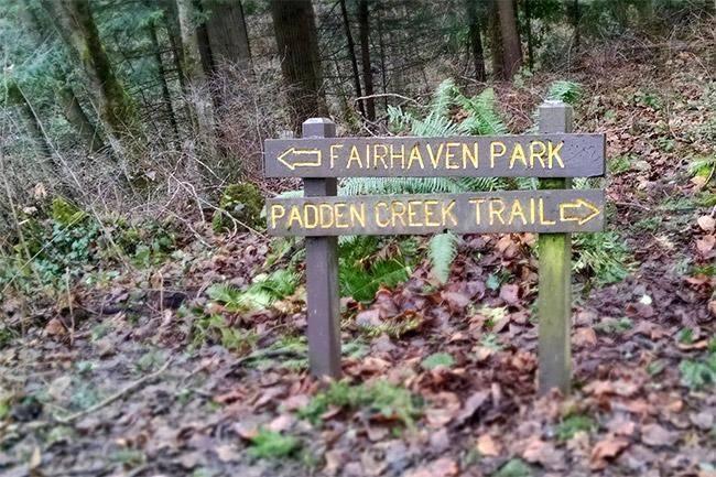 "Today, Fairhaven Park consists of 16 acres of multi purpose fields, basketball and tennis courts, playgrounds, splash park and over 59 varieties of trees in an area deemed the ""Chuckanut Community Forest."""