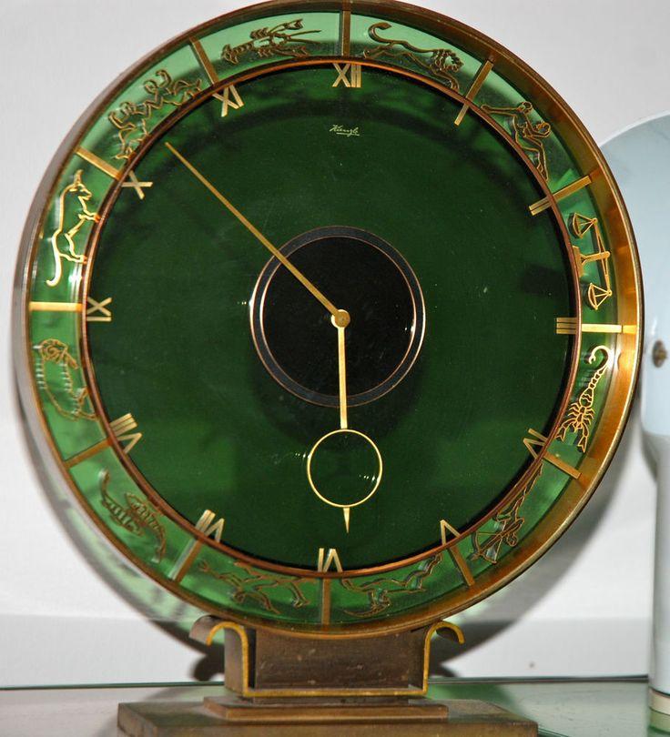 17 best images about vintage clocks on pinterest mid for Kaminuhr modern
