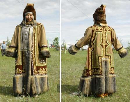 Yakut woman's winter coat