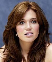 Mandy Moore i could spend hours looking at her hairstyles. long layers+ copper highlights= heaven