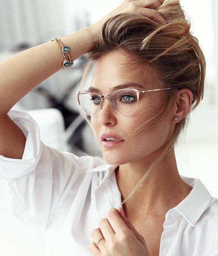 lunettes de vue femme fines et discrètes