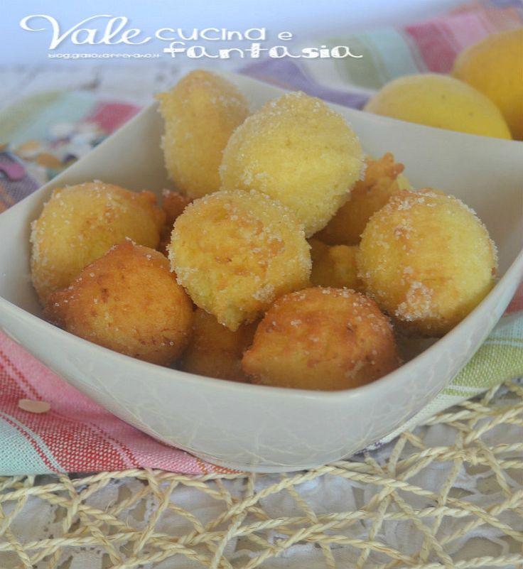 Castagnole con vaniglia e limone veloci e profumate