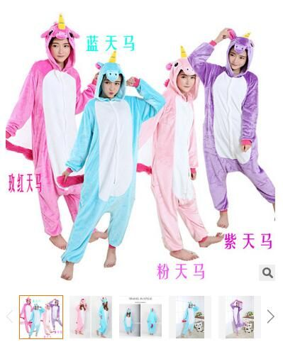 Walson Wholesale soft flannel unicorn onesie different color unicorn onesie