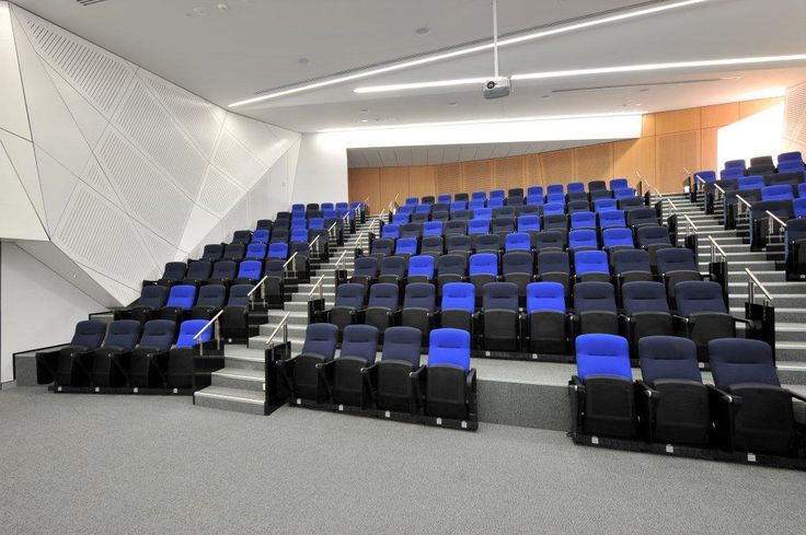 Lecture theatre wall lining by Keystone