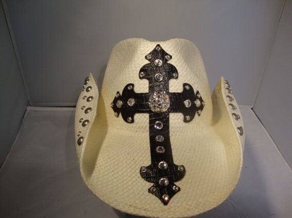 Handmade Custom Cowboy Hat Alexis OC Housewives by teamdiva, $148.00