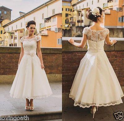 Blume Gürtel Teelänge Hochzeitskleid Brautkleid Ballkleid formelle Kleid 32 34++
