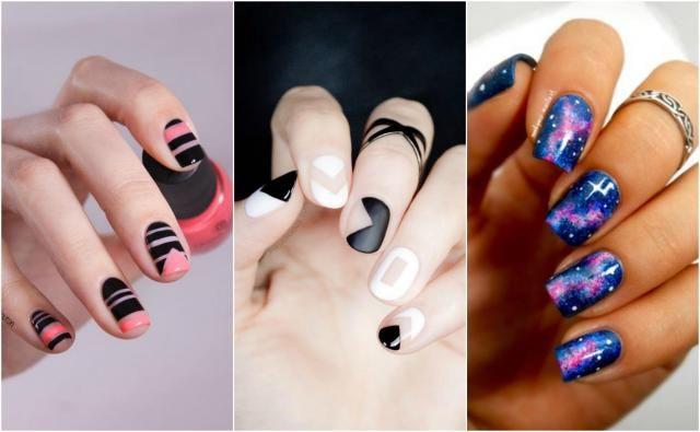 Trendy zima 2016/2017: 12 pomysłów na genialne paznokcie #paznokcie #pazurki #moda #uroda #manicure