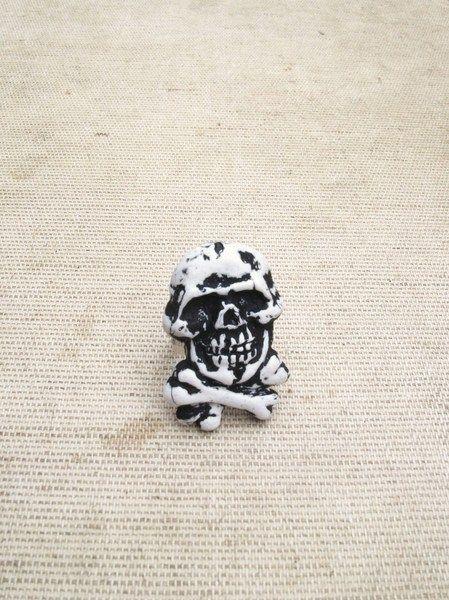 Bague Tête de Mort, Squelette, Horreur, Zombie de C-Pas-Ordinaire créations sur DaWanda.com