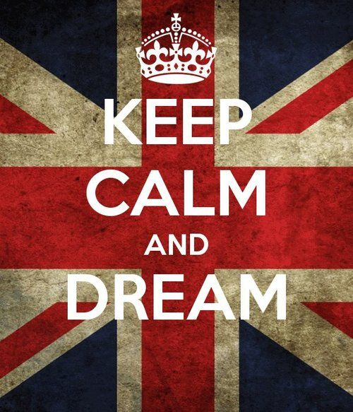 British flag! <3 and it doesn't hurt to dream.