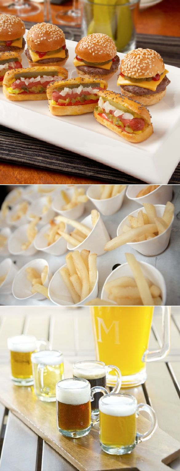 mini food ideas for parties — Wedding Ideas, Wedding Trends, and Wedding Galleries