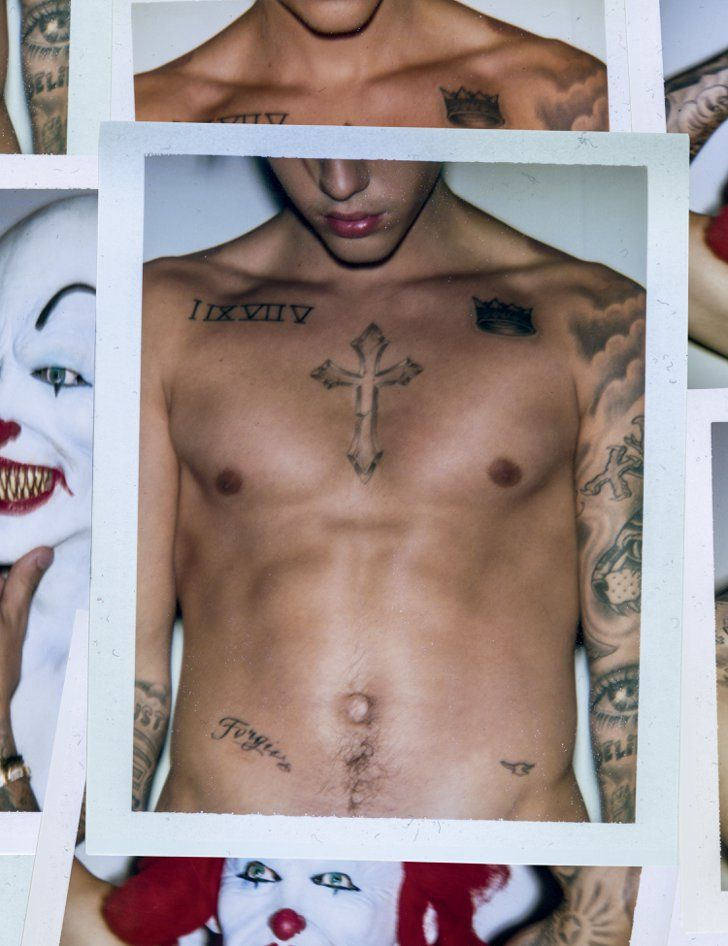 Pin for Later: Justin Bieber Goes Shirtless For a Racy Photo Shoot