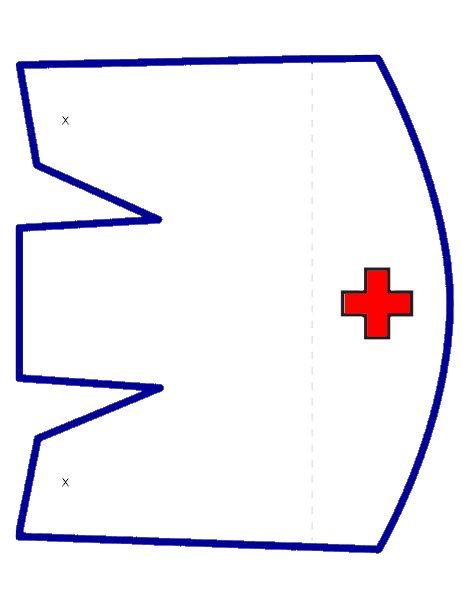 28 Οκτωβρίου: Ερυθρός Σταυρός:oι νοσοκόμες προσφέρουν στον πόλεμο.Πατρόν για στολή νοσοκόμας, πατρόν καπέλου νοσοκόμας.