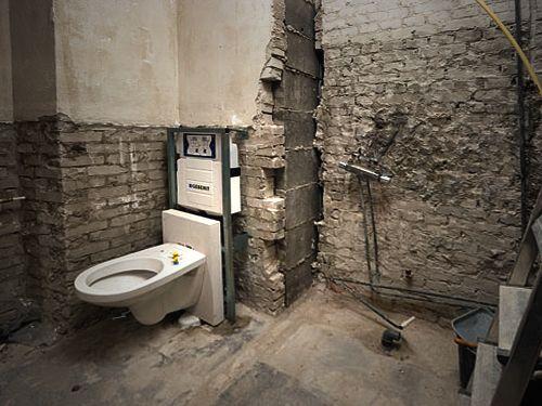 25 beste idee n over kleine badkamer verbouwen op pinterest kleine badkamer ontwerpen kleine - Een wc decoreren ...