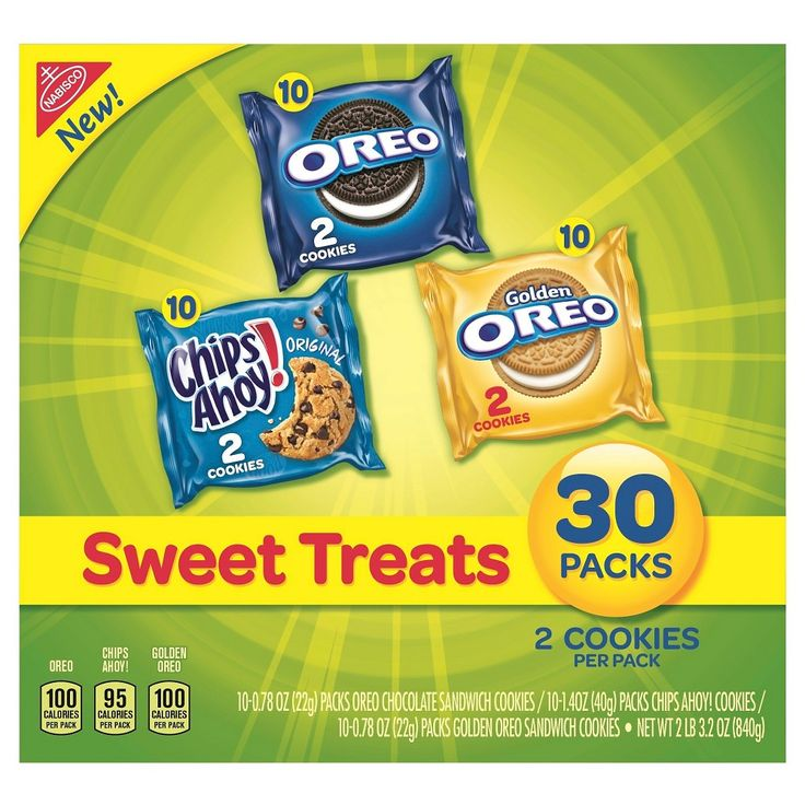 Nabisco Cookies Sweet Treats Pack of 30