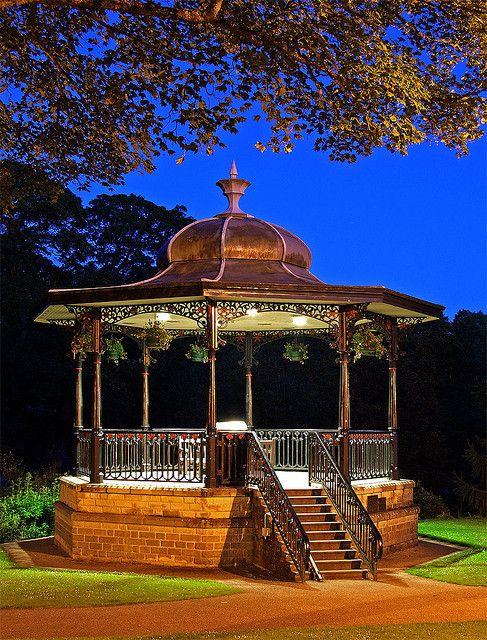 Buxton Pavillion Gardens Band Stand, England