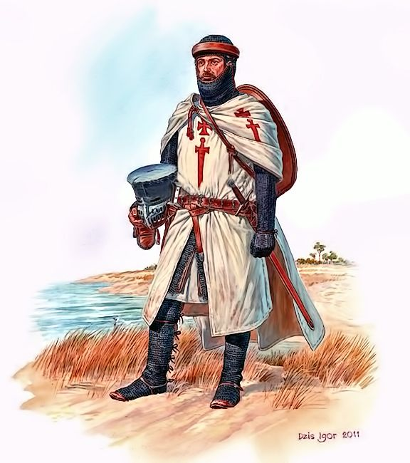 Knight the military order of the Livonian Brothers of the Sword( Fratres militiæ Christi), 1230