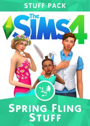 The Sims 4 | Spring Fling Collaboration - Easter Fashion & Decorations | CAS…
