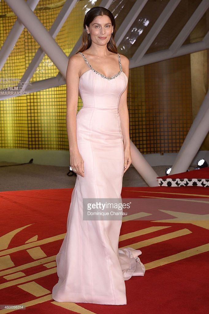 Laetitia Casta attends the Evening Tribute To Jeremy Irons as part of the 14th Marrakech International Film Festival on December 6, 2014 in Marrakech, Morocco.