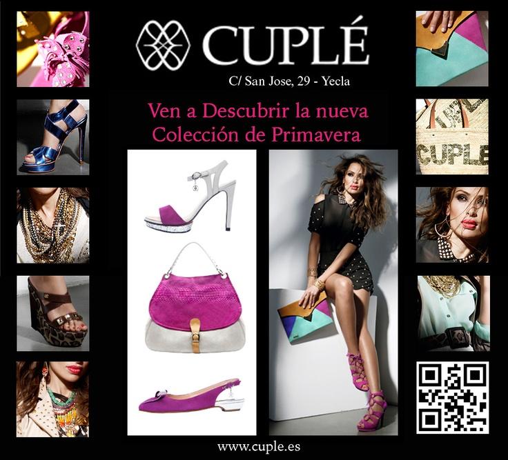 Cuple en Yecla te invita a descubrir las nuevas colecciones de primavera y tendencias, te esperamos !!!
