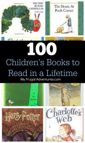 Here are 100 Best Children's Books everyone must read! This list includes