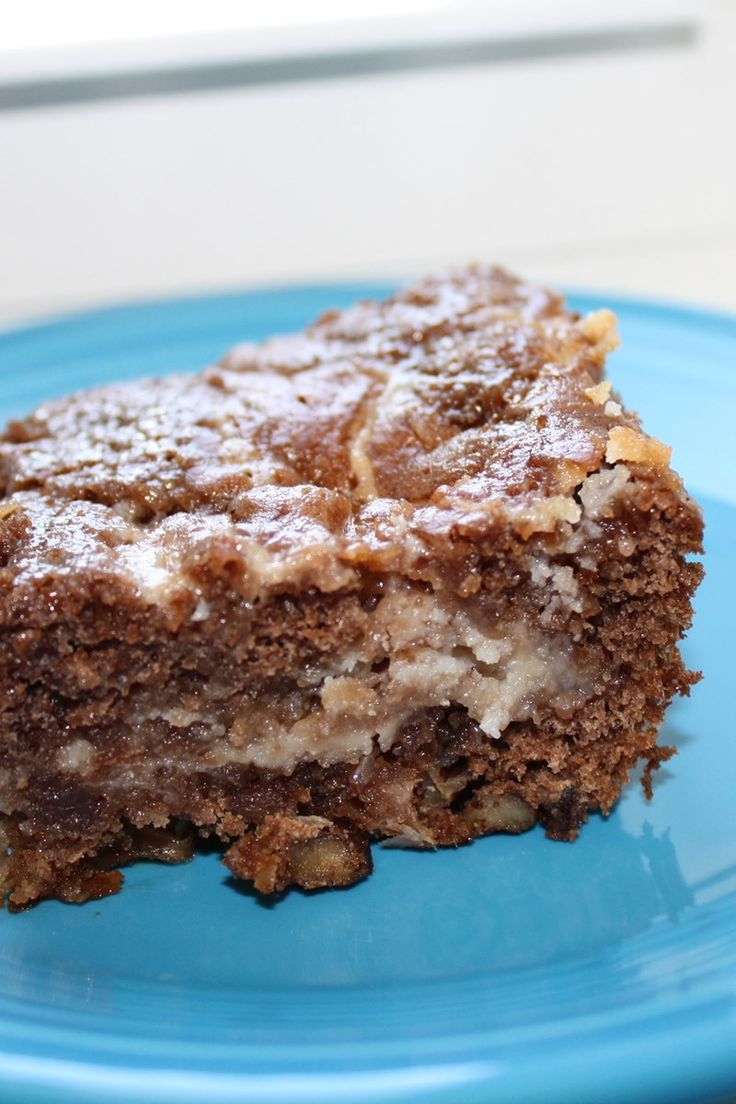 Chocolate, Coconut & Pecan Earthquake Cake Recipe