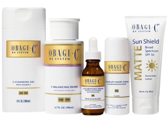 Womens Mens Obagi-C Fx System for Normal to Oily Skin Authentic Bright Skin NWT  | eBay