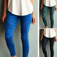 Wish   2016 New Sexy Women Jeans Skinny Jeggings Stretchy Slim Leggings Skinny Pants
