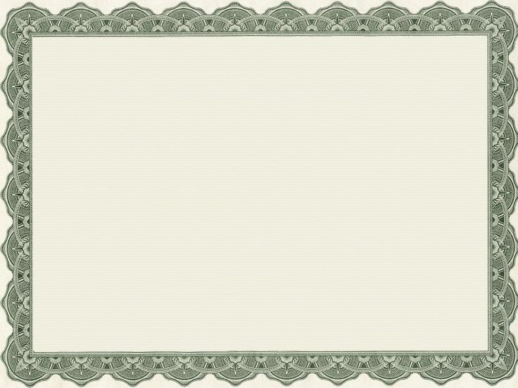 blank certificate border template - Google Search Project - blank certificate