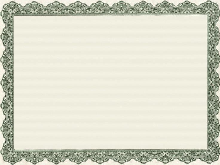 25+ unieke ideeën over Blank certificate op Pinterest - blank certificates template