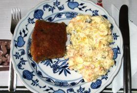 staročeský bramborový salát | recept