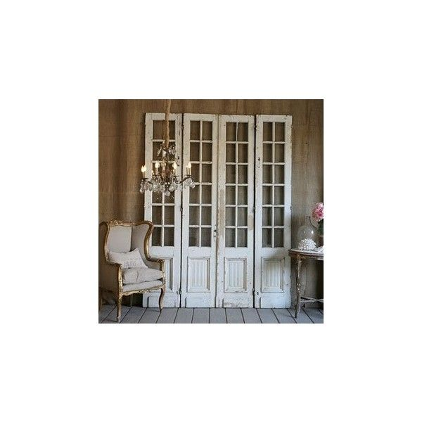 interiors and all things pretty Decorating with old doors found on Polyvore