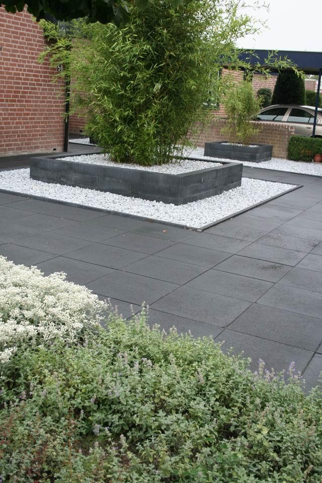 Sierbestrating - Tremico betontegels