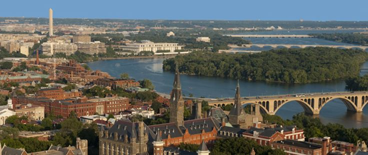 Georgetown University | Washington, D.C. | Medium-sized (7,600) Jesuit liberal arts institution with a residential campus. Core curriculum; 40 degree programs offered; 3+2 Engineering option with Columbia. Admission: Most Selective - 17%. Recommendation that all applicants submit 3 SAT Subject Tests.